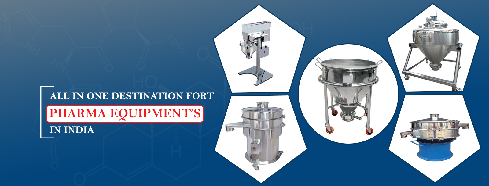 Pharma Machine Manufacturer and dealer in India